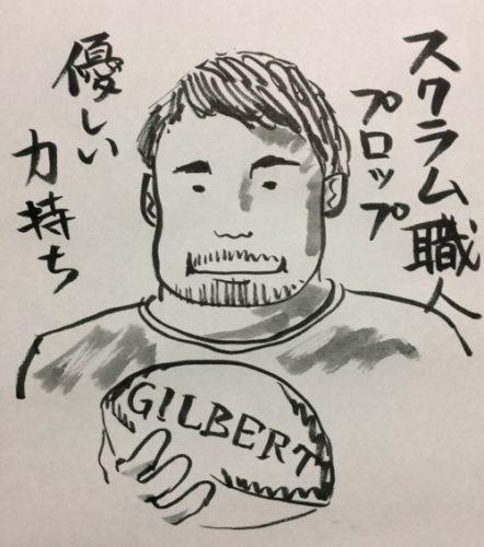 ラグビーのポジション解説/#1&3 プロップ編