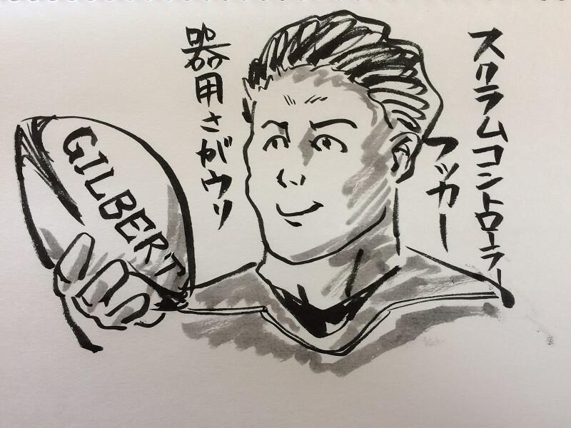 ラグビーのポジション解説/#2 フッカー編